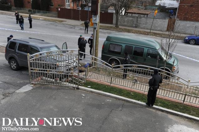INSTANT KARMA: Man commits robbery in Brooklyn, then gets struck by car