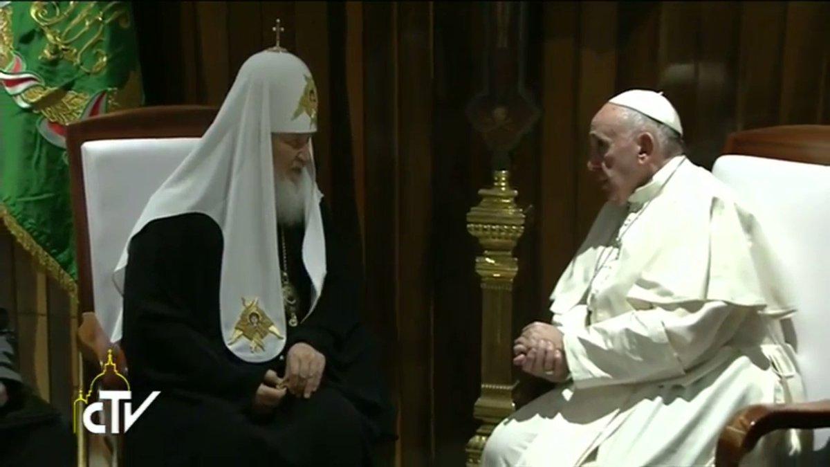 Francis addressed Kirill as