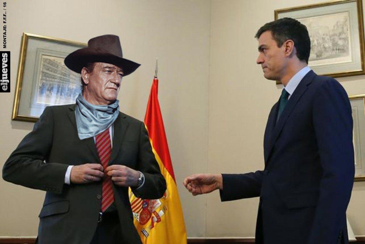 Rajoy propone a Sánchez una coalición PP-PSOE-C's después de no saludarle https://t.co/uoiTOfSuXR
