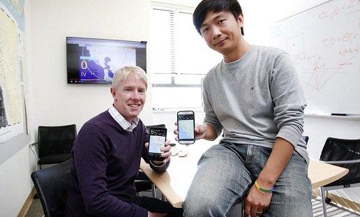 Berkeley scientists develop quake-detection phone app.