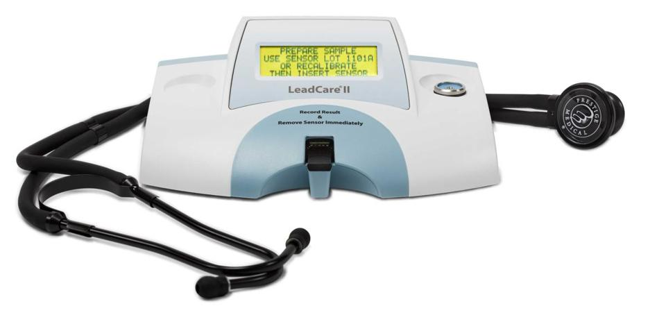 Billerica company loans portable lead testing machines to doctors in Flint, Mich.