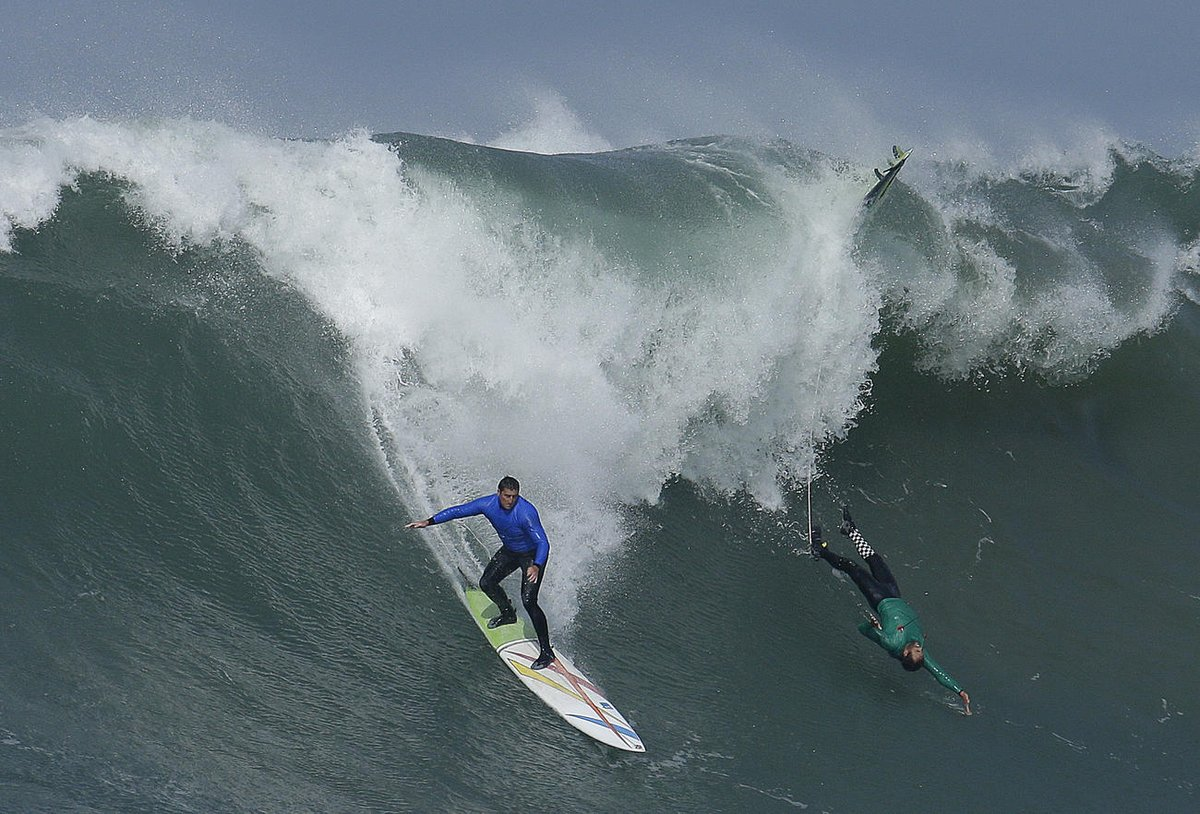 The Titans of Mavericks big-wave surfing competition