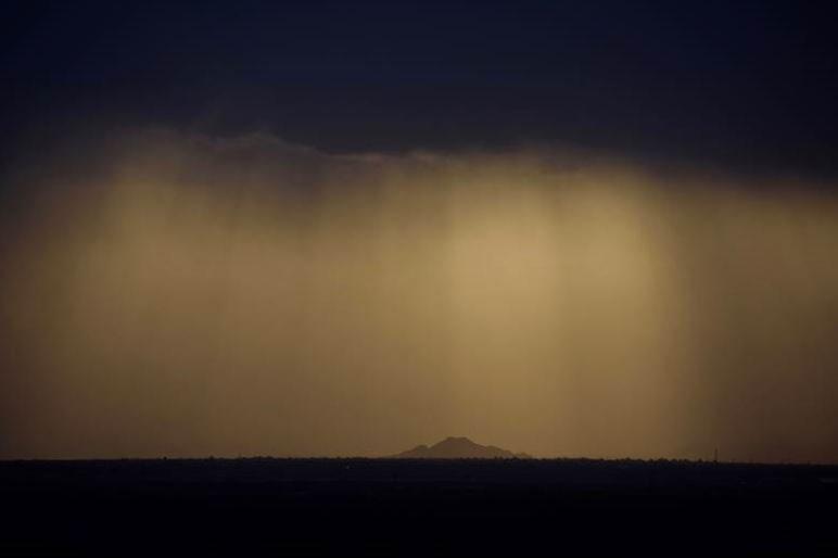 AZ365: Even the rain is beautiful in Arizona