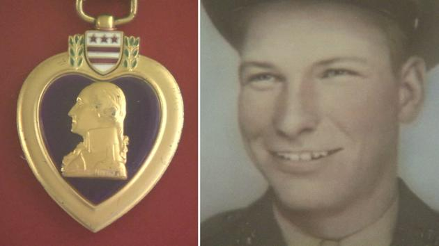 Purple Heart returned to SoCal family of fallen Marine