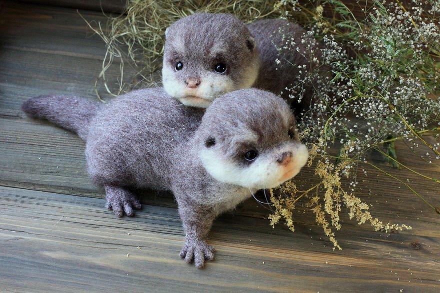 一目ぼれしちゃう♥羊毛で作られた小さい動物たちが超キュート!!