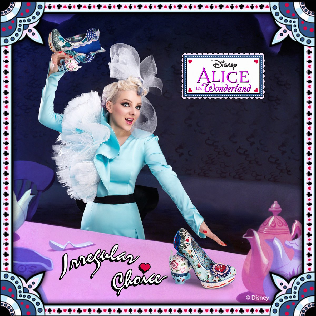 'One lump or two' & 'all Mad here' Limited edition Irregular Choice - Alice in Wonderland pouring into stores soon… https://t.co/mNgkKBqupW