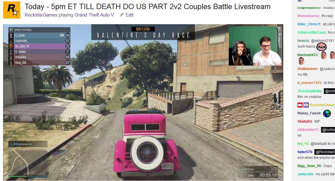 Rockstar Games On Twitter Live Last Job Valentine S Couples Rally Race Gtaonline Https T Co K38qjex6le Https T Co Hvdu2o8ly2 Https T Co Kzjaadzdeh