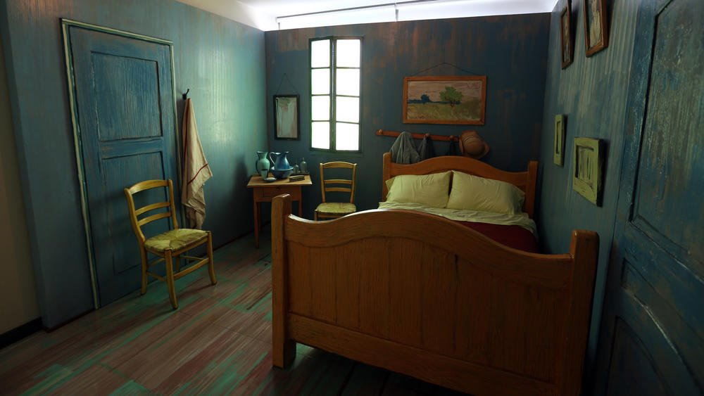 Take a look inside Van Gogh's newest bedroom with @StevenKJohnson. No ear jokes allowed