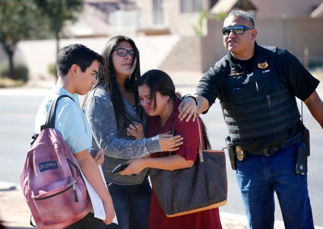 The 15-year-old girls dead in murder-suicide at Ariz. HS were