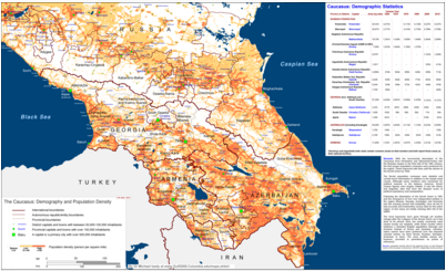 Riskreduction On Twitter The Caucasus Demography And