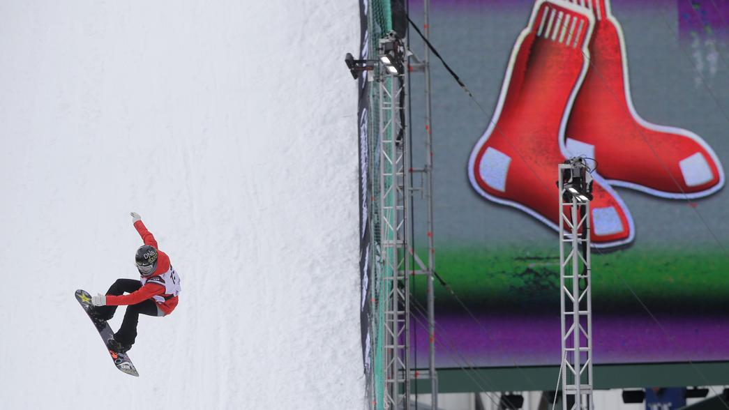 30 awesome photos from Big Air at Fenway