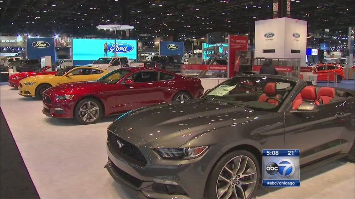 Charity event tonight kicks off Chicago Auto Show