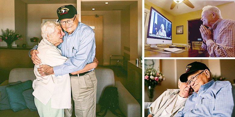 Love Never Dies – 93-Year-Old WW II Vet Reunites With Lost Wartime Love After 70 Years https://t.co/5SHPLcYJZW https://t.co/AqAtJTZPDd