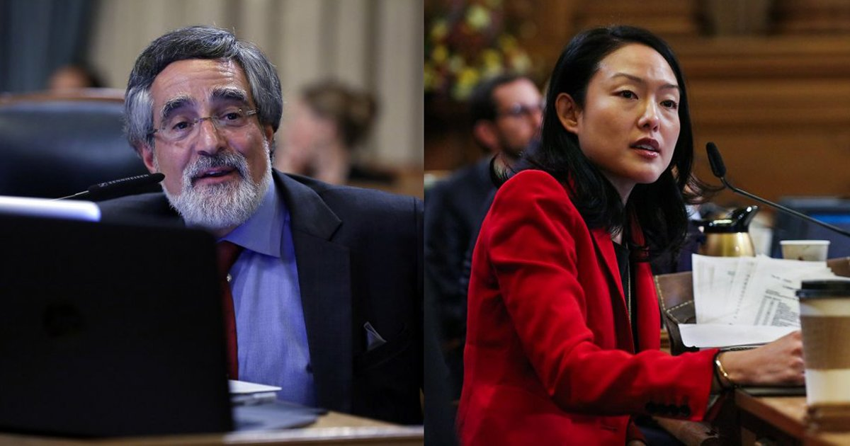 SF supervisors Peskin, Kim the new political power couple at City Hall. via @cwnevius