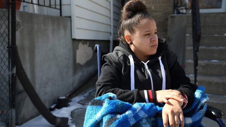 Chicago teen hit by stray bullet on way to school has dealt with gun violence before