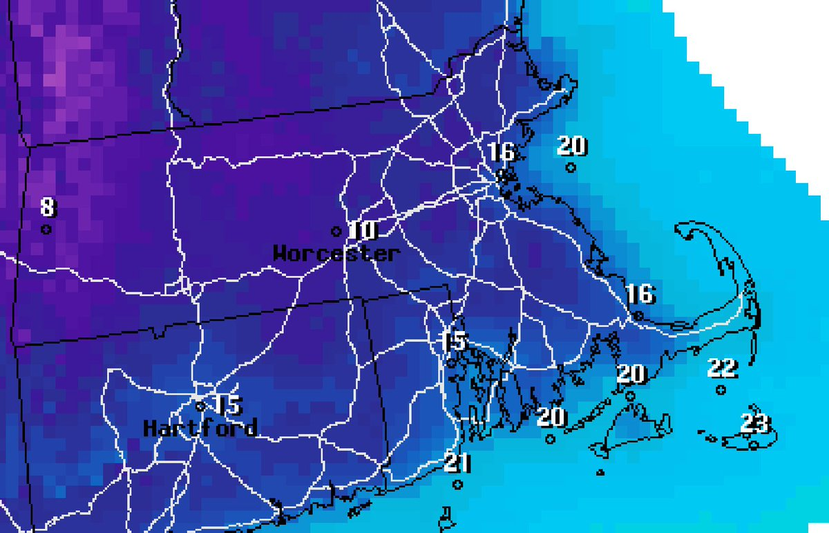Forecast: It's going to be cold this weekend in Greater Boston.