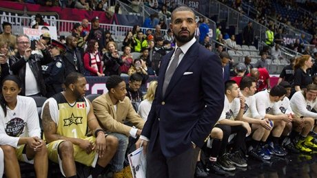 Drake coaches Canada to win over U.S. in NBA Celebrity All-Star Game