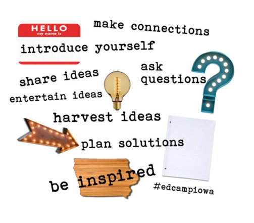Thinking about #edcampiowa must do's... https://t.co/v9Cw9uNZXU