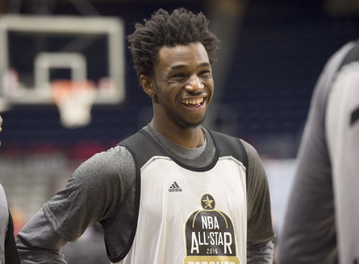 Andrew Wiggins does Canada proud at all-star weekend NBAAllStarTO