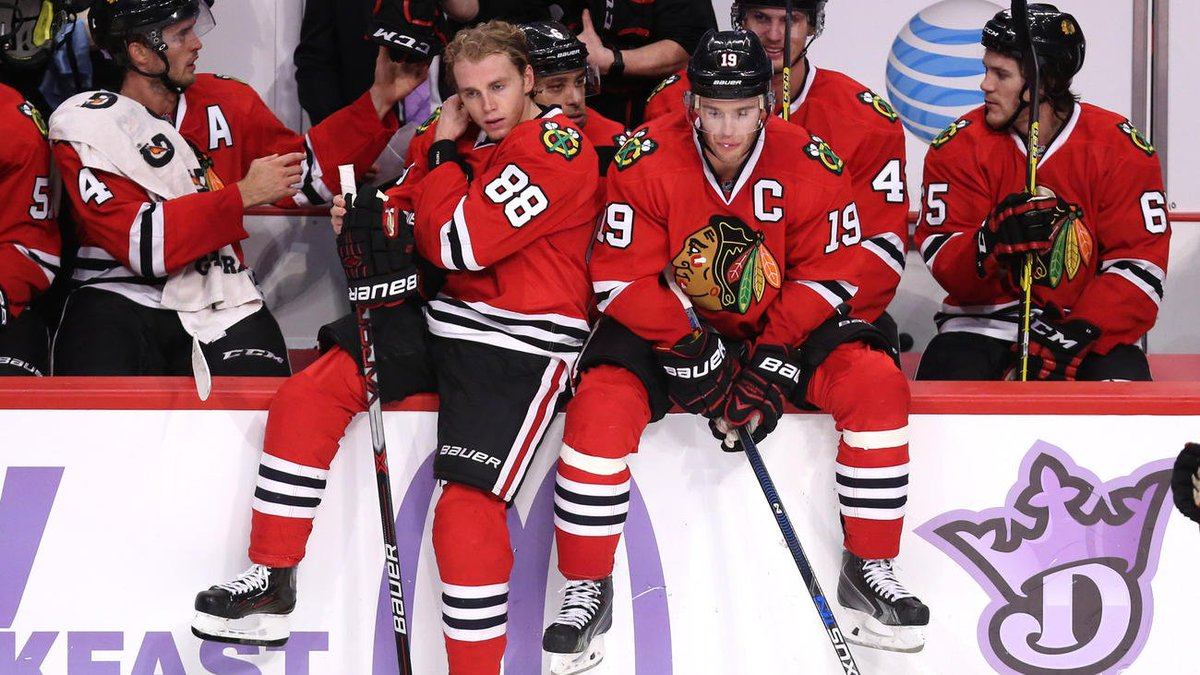 Don't expect Kane and Toews skating together on the same line to become a trend