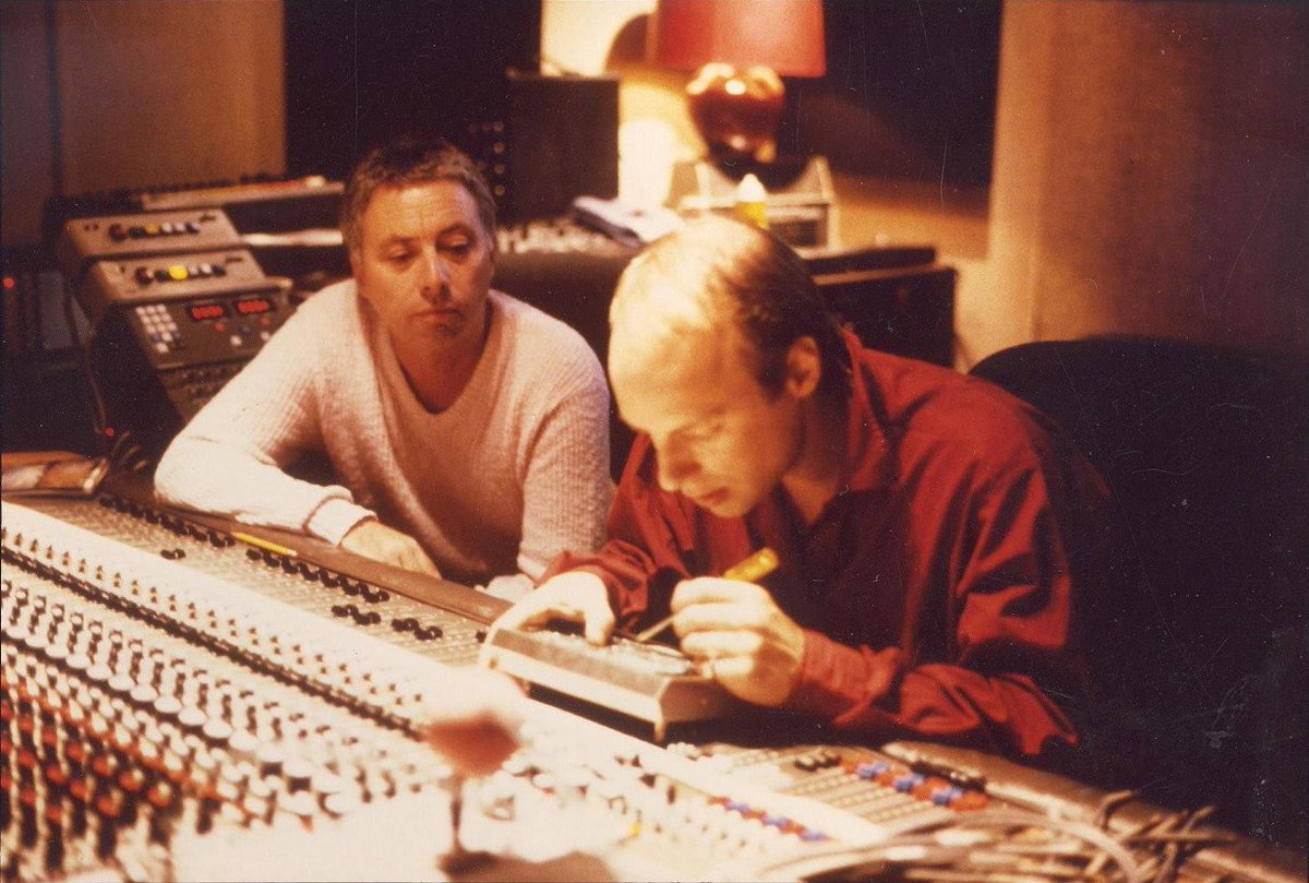 """Brian Eno News on Twitter: """"Brian Eno and Harold Budd during sessions for The Pearl, 1984 #ambient https://t.co/xAs5xmVJvz"""""""