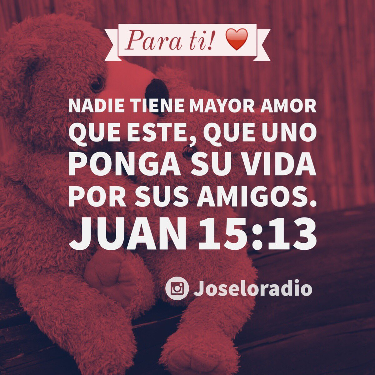 Joseloradio On Twitter Juan 15 13 Amor Love Sanvalentin Cupido