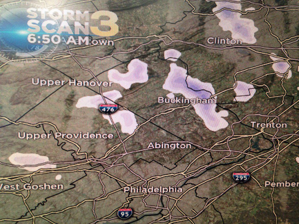 Passing flurries and snow showers around this morning. cbs3