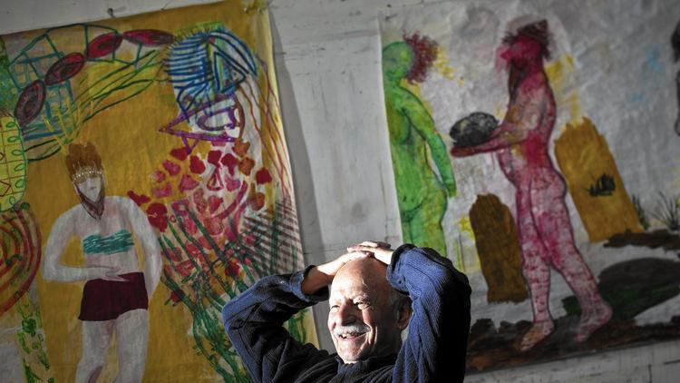 Charles Garabedian dies at 92; California artist's colorful paintings belied dark themes