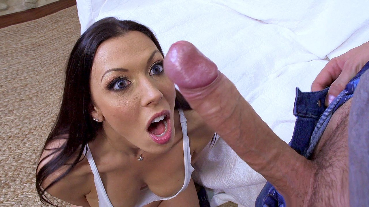 Girl on top of big dick