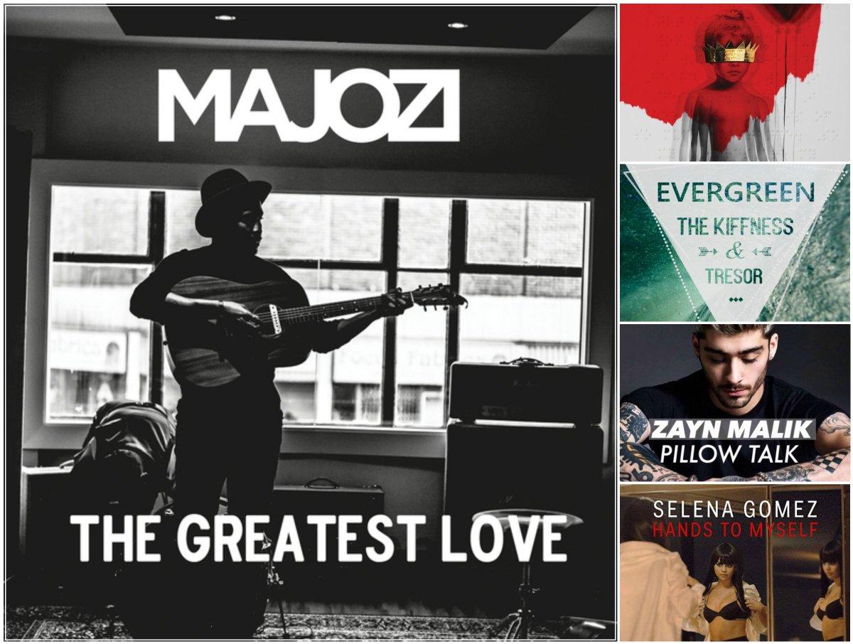 New Entries on the #MFMTop40: #23 Majozi #27 Rihanna #33 Tresor & The Kiffness #37 ZAYN #40 Selena Gomez https://t.co/1wtmzlCcic