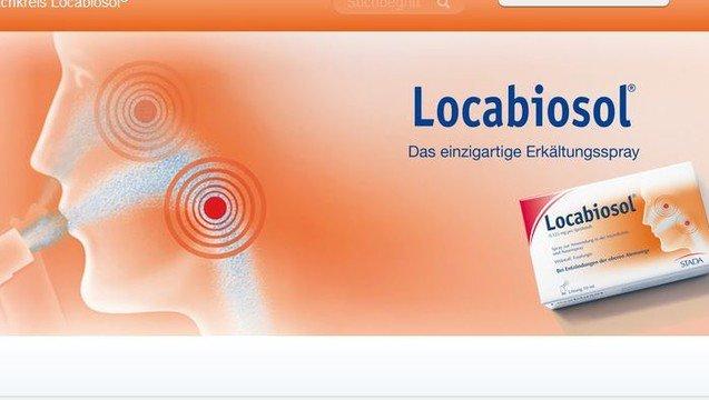 Anwendung locabiosol spray Locabiosol 0.125Â