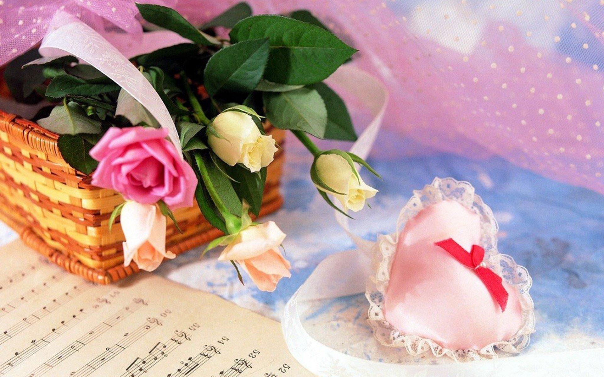 Красивые романтичные картинки и открытки, днем