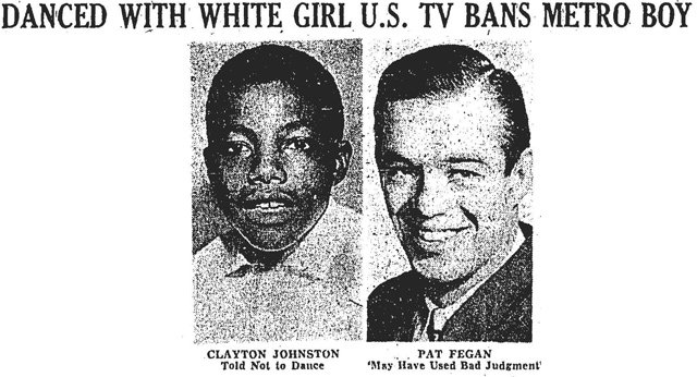 In 1959, a Toronto teen was kicked off a Buffalo TV show for dancing with a white girl.