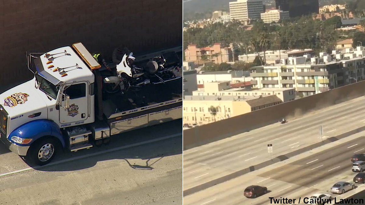 President Obama's motorcade crashes in West LA