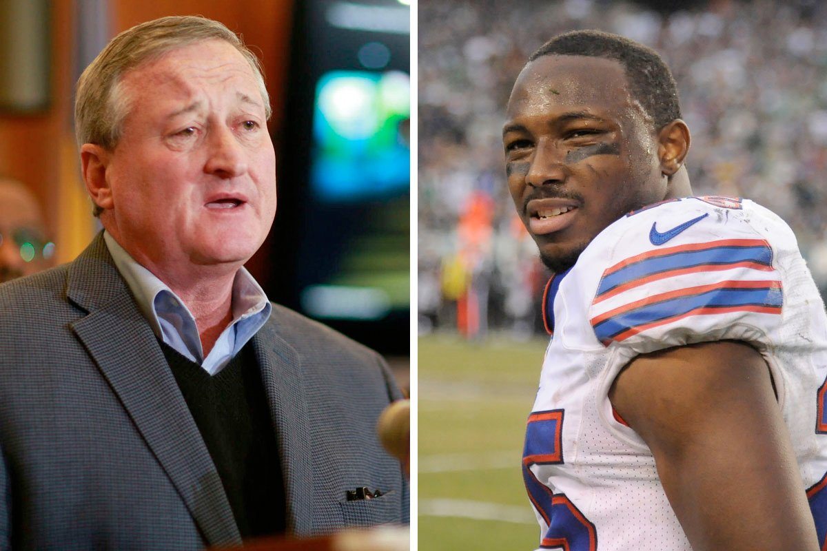 Philly Mayor Jim Kenney criticized over his comments about LeSean McCoy