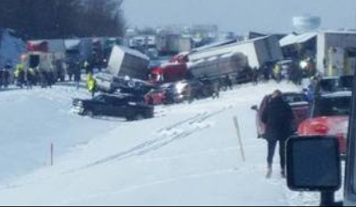 Expect traffic delays on I-78 where multiple cars are involved in an accident.