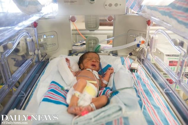 A woman traveled all the way from Nigeria to give birth to triplets at a Brooklyn hospital