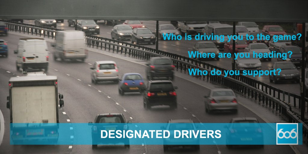 "RT @bbc606: On your way to a game today? Want to say ""thanks"" to your #DesignatedDrivers? Let us do it for you. https://t.co/zC74vFDuYt"