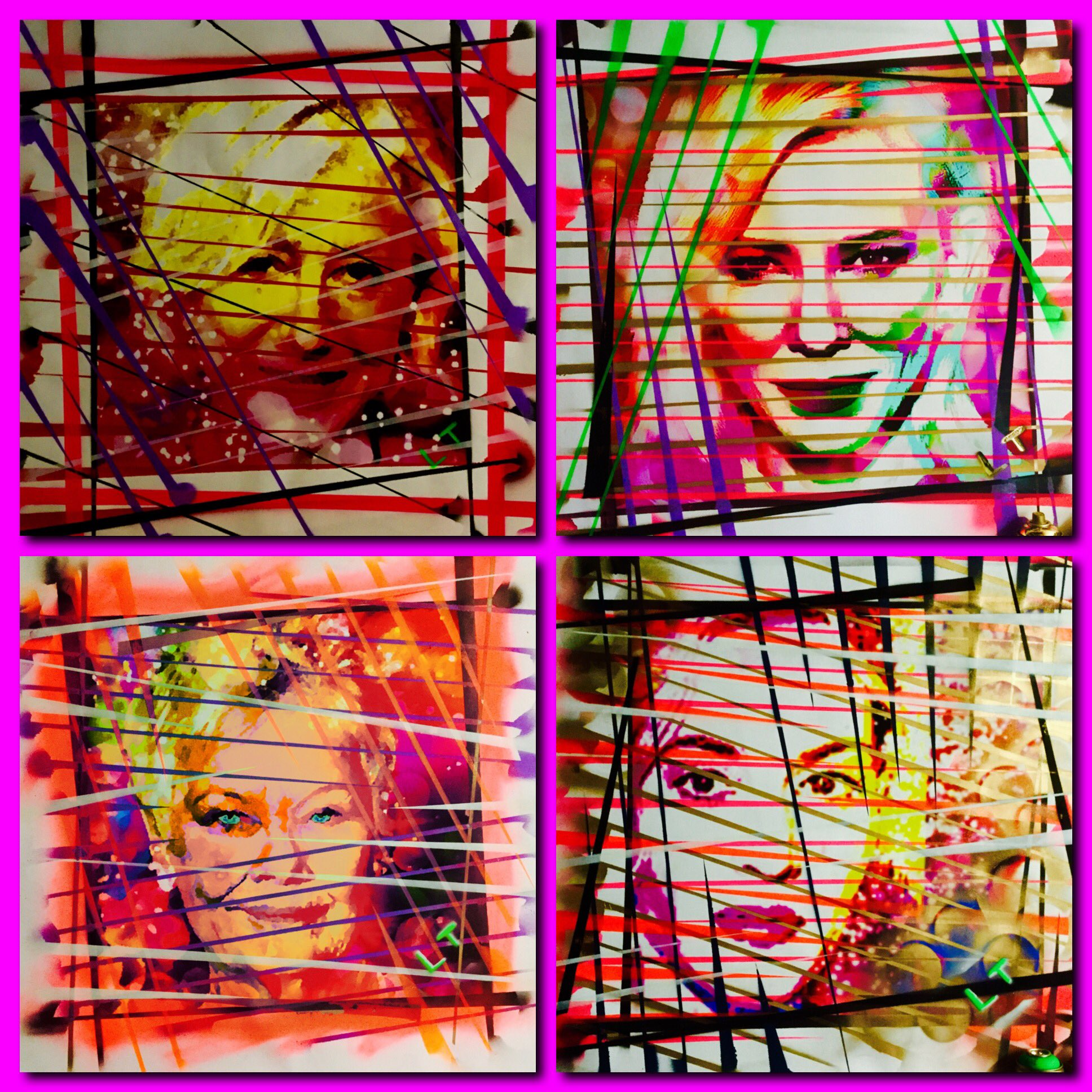 RT @LincolnTownley: Extreme colour achieved using @mhoilpaints prints by @KleinEditions heading for LA this week...and me! https://t.co/tvD…