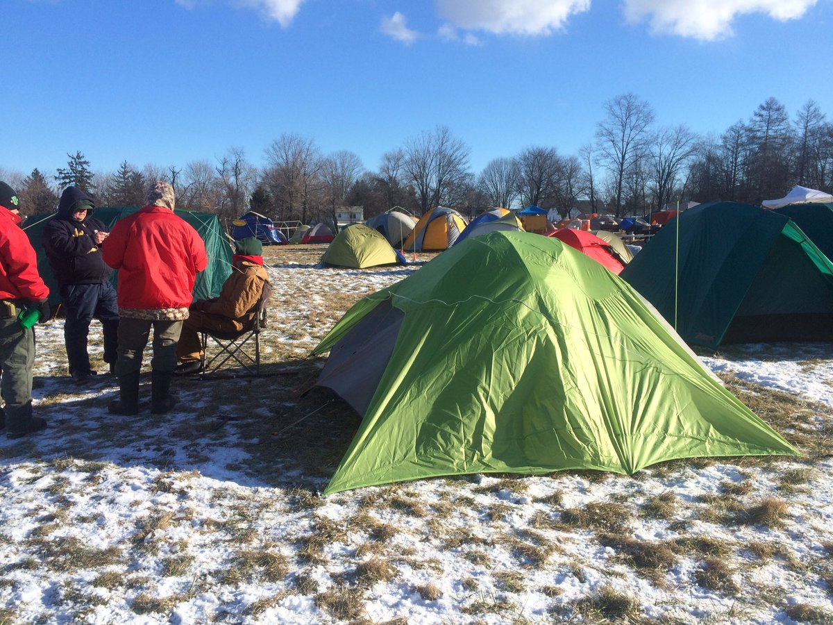 Camping in harsh wind and dangerous cold. We ask some Boy Scouts how they're staying safe @NBCPhiladelphia now at 9