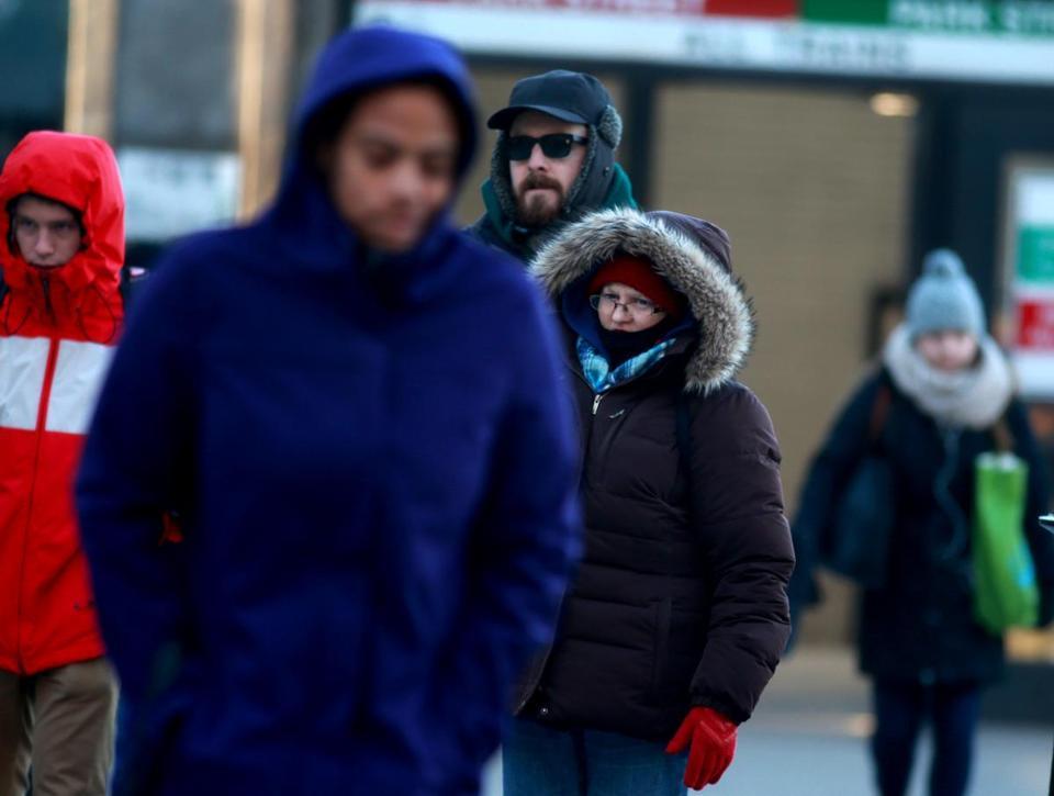 Temperatures could dip to minus-6 Saturday night