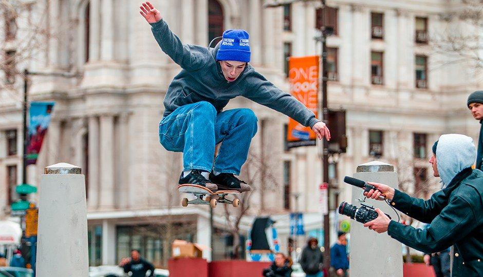 Skateboarders Take Final Spins, Spills at LOVE Park