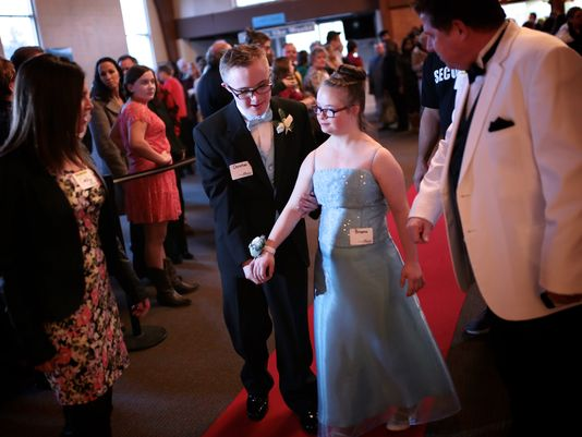 Special-needs adults dance away a prom night to shine