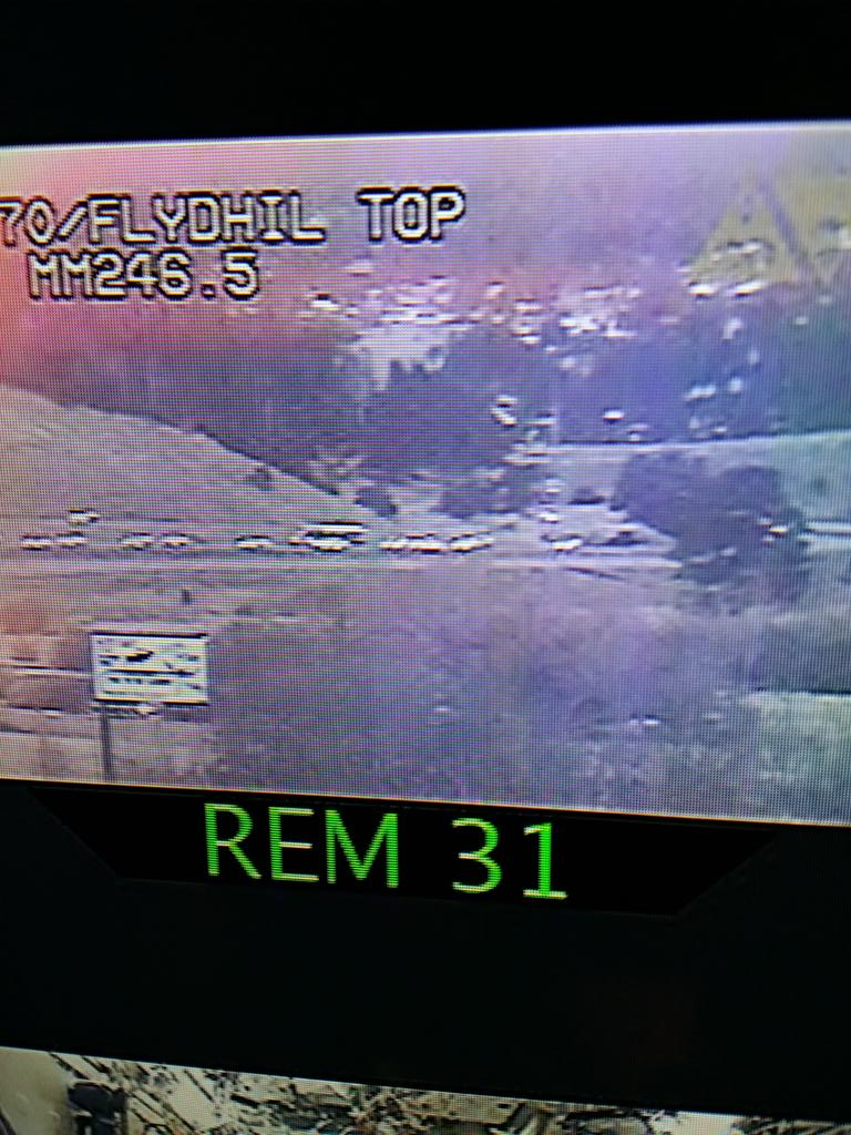 Big backups on I-70 at Floyd Hill heading up into the high country. 9newsmornings
