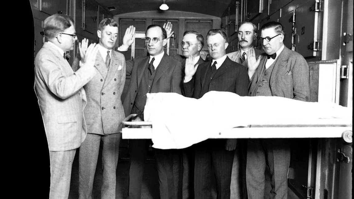 Autopsy reports found from Chicago's infamous Valentine's Day massacre of 1929