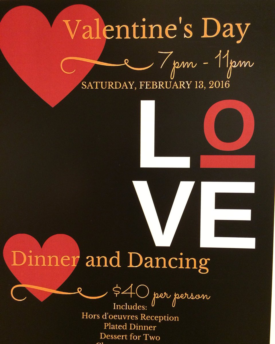 Norbeck Country Club On Twitter Valentine S Day Dinner Dance