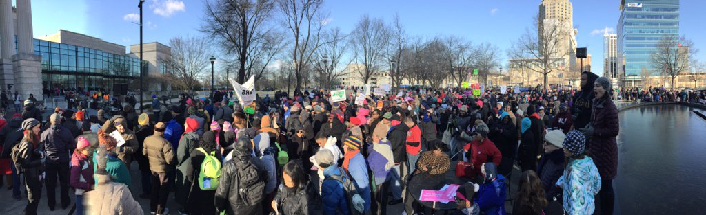 Thumbnail for The Left of The Left Out In The Cold, Literally - #MoralMarch2016