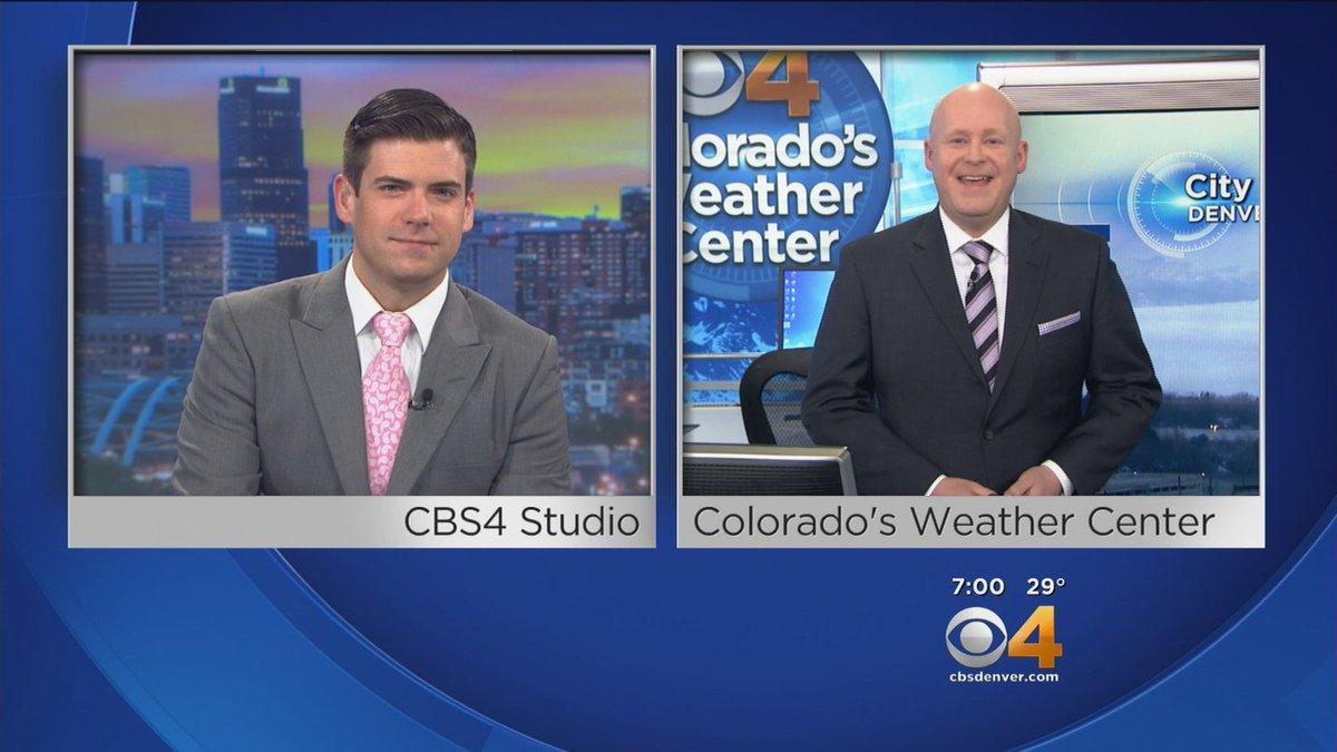 Felons on the run, Sanders & Clinton in Denver today, and a lot of morning fog! Join @MarkTaylor_TV and @ChrisCBS4