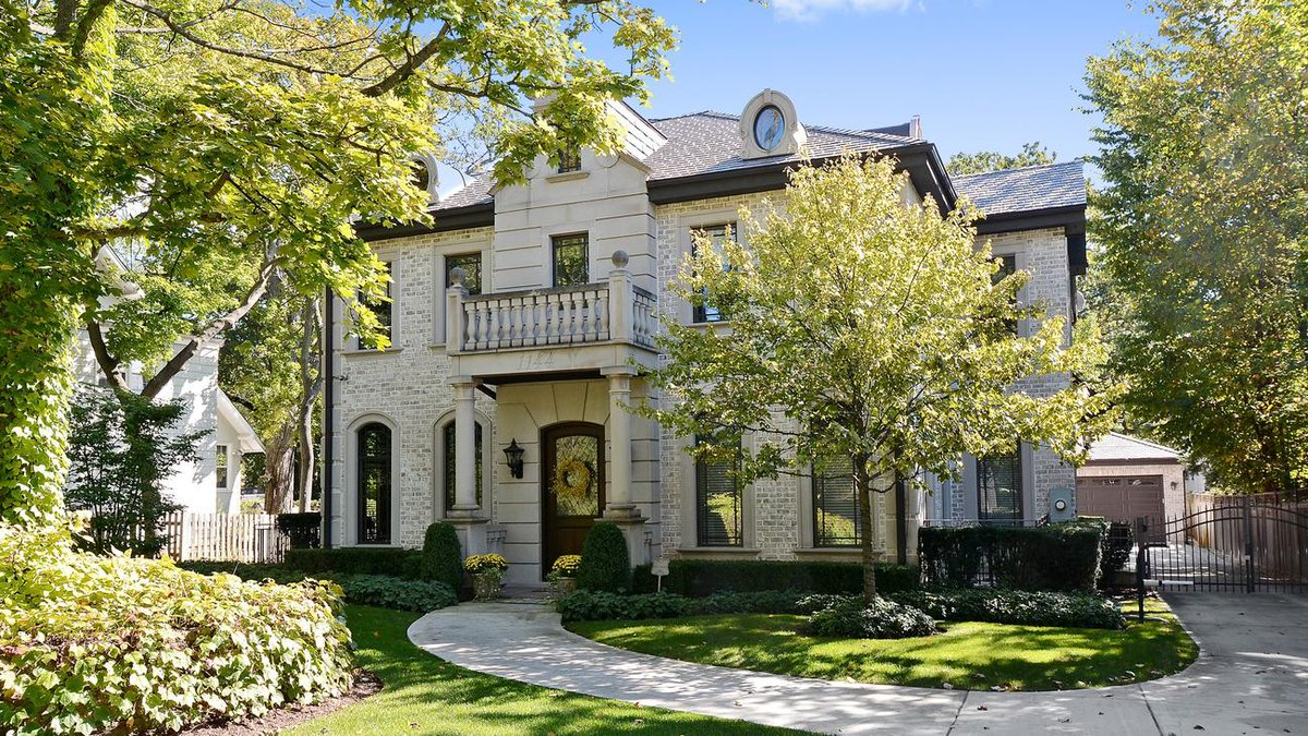 Home of the day: French provincial estate in Winnetka listed at $1,695,000