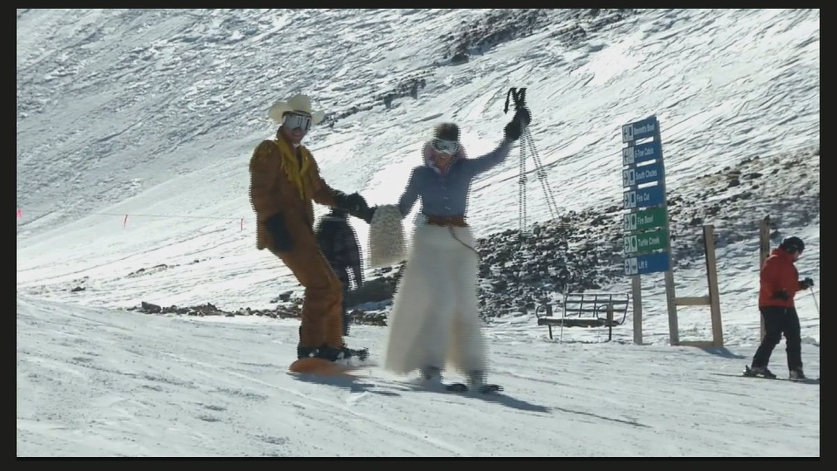 In the V-Day spirit? You can marry your honey on the top of @LovelandSkiArea Mountain tomorrow!Live interview ahead